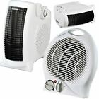 2000w Fan Heater with 2 Heat Settings & Cool Blow Thermostat Electric Heater
