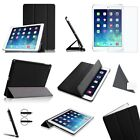 Ultra Slim Smart Leather Case Cover With Back Casing for Apple Ipad Mini 1 & 2