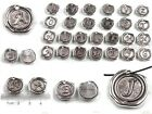 Assorted 26 Letters Tag Alphabet Antique Silver Pendant 20mm Jewelry Findings BS