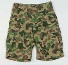 L-R-G Lifted Research Group Green Camouflage Cargo Shorts Youth Boys NWT