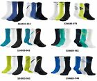 3 PACK - NIKE DRI-FIT COTTON FLY CREW SOCK - CHOOSE COLOR & SIZE - COMFORT SOCKS