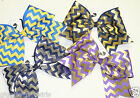 Chevron Cheer Bow - Choose Your Color