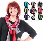 KLEEN SPA Heartstrings Soft Stretch Jersey  SCARF  Solid  7 COLORS AVAILABLE OS