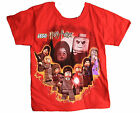 Hogwarts Lego Harry Potter Youth Tee Shirt Red XS-XL