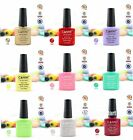 New Gel Polish Shecllac Soak off Fashion Colour LED Glitter Decoration 7.3ml #B