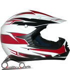 Leopard LEO-X16 Youth Children Kids Motorbike Motorcross Helmet Burgundy/White