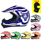Leopard LEO-X16 Junior Children Kids Motorbike Motorcycle Motocross MX Helmet