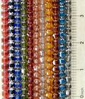 100 Preciosa Czech Glass 6mm Cathedral Fire Polished Faceted Rosary Beads U Pick