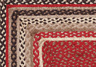 "Tacoma Jute Natural Fiber Jute Area Rugs 20"" to 108"" 9' Red, Creme, Black"
