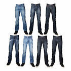 RNZ Premium Designer Fashion Mens Distressed Jeans - Multiple Styles