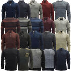 Mens Jumpers Long Sleeve Knitted Winter Jumper Knitwear New S M L XL XXL