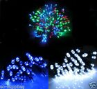 100 CHRISTMAS LED CHASING STRING FAIRY LIGHTS XMAS TREE PARTY INDOOR OUTDOOR