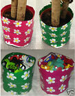 2 POP UP FLOWER GROUND PLANT POT PLANTER COVERS TOY STORAGE ROOM TIDY BOX TUBS
