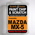 MAZDA MX-5 TOUCH UP PAINT Stone Chip Scratch Car Repair Kit 2006-2011
