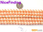 """Round Freshwater Pearl Stone Beads Fashion Jewelry Making 15""""6-7mm Color Select"""