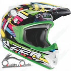 Lazer X6 Junior Comet MX Helemt Kids Child Motorcycle Motorbike Motocross Helmet
