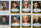 Star Trek DS9 Deep Space Nine Autograph Card Selection NM