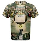 Freemason Masonic Register Lodge Sublimated Sublimation T-Shirt S,M,L,XL,2XL