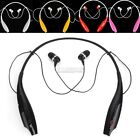 Wireless Bluetooth Stereo Headset Neckband Style 5 Colors EA