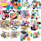 Lot of 40 Double Sided Mixed Bright Color Enamel & Silver Plated Assorted Charms