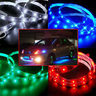 30cm/60cm/120cm 3528 SMD LED Car Motor Neon Strip Light Flexible Waterproof 12V