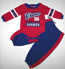 Nwt New York Giants Football NFL Logo Set Outfit Top Pants Sweats Red Cute Boy
