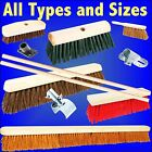 SWEEPING BRUSH Soft / Stiff with / without handle broom yard floor