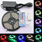 RGBW RGB White 5M SMD 5050 Led Strip Light Waterproof +IR Controller+12V Adapter