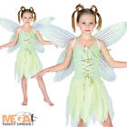 Neverland Fairy Girls Fancy Dress Fairytale Kids Childs Story Book Costume New
