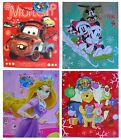 DISNEY CHARACTER CHRISTMAS (XMAS) LARGE GIFT BAG with Tag - Range Available