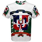 Dominican Republic Coat of Arms Sublimated Sublimation T-Shirt S,M,L,XL,2XL