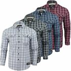 Mens Shirts Check Smith & Jones 'Pembridge' Long Sleeve