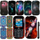For LG Cosmos 3 VN251S Mandala Galaxy Design PATTERN HARD Case Phone Cover + Pen
