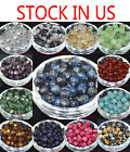 Wholesale Lots Natural Stone Gemstone Round Spacer Loose Beads 4,6,8,10MM