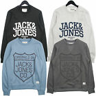 Jack & Jones Mano Print Logo Sweatshirt  in Blue, Grey, Black, White *BNWT*