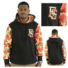 Fly Society The Rosary Men's Pullover Floral Pattern Hoodie