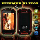 Real IP68 Hummer H1+ rugged phone 4G ROM field survival Dual Core 2sims AT&T