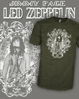 Led Zeppelin II III IV Jimmy Page Zoso Vintage Rock T-Shirt Scoop V-Neck Raglan
