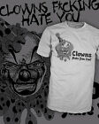 Clowns Hate You Too - Funny Circus Carny T-Shirt - Vintage Scoop V-Neck Raglan