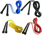 Skipping Rope Boxing /Jumping / Workout Exercise Pve Rope Plastic Handle (401)