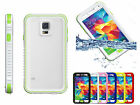 Waterproof Shockproof Snowproof Case w/Button for Samsung Galaxy S5 I9600