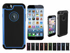 4.7 Inch Rugged Hybrid Armor Impact Hard Case Cover For Apple iPhone 6