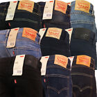 Levi Strauss 511 Jean Levi's Slim Fit Tapered Leg Denim Trouser Pant New