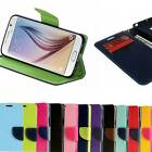 Magnetic Flip Wallet Card Slot Leather Stand Holder Hard Case Cover for iPhone