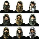 Camo Outdoor Windproof Thermal Winter Ski Neck Hoods Full Face Mask Cover Hat