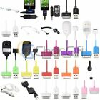 30 Pin USB Travel Car Charger Cable For Apple iPhone 4 4S 3G 3GS iPod iPad 1 2 3