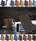 "iPhone 6 (4.7"") *Super Slim* Ledertasche Handytasche Etui Tasche Hülle TOP Case"