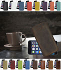 "iPhone 6 Plus (5.5"") *Slim* Ledertasche Handytasche Etui Tasche Hülle TOP Case"