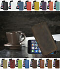 "iPhone 6 Plus / 6s Plus (5.5"") *Slim* Ledertasche Etui Tasche Case Hülle Cover"
