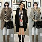 Fashion Winter Womens Jacket Warm Cardigan Hoodies Casual Outwear Fur Coat Parka